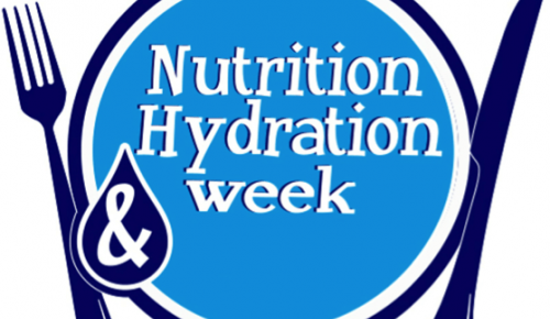 nutrition hydration week logo
